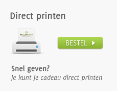 Wellnessbon geven - Direct printen
